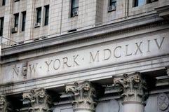 αίθουσα Νέα Υόρκη πόλεων στοκ φωτογραφία με δικαίωμα ελεύθερης χρήσης