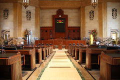 αίθουσα νομοθετική Στοκ Φωτογραφίες