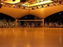 Αίθουσα παγοδρομίας πατινάζ πάγου Στοκ Φωτογραφίες