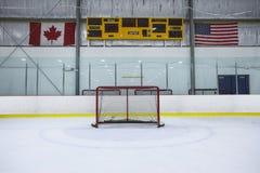 Αίθουσα παγοδρομίας χόκεϋ Στοκ Εικόνα