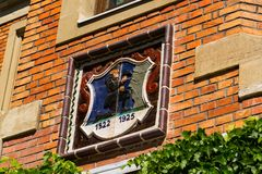 Αίθουσα πόλεων στο κέντρο πόλεων Schladming, Styria, Αυστρία Στοκ Εικόνες