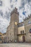 Αίθουσα πόλεων του Αρέζο Ιταλία στοκ φωτογραφία με δικαίωμα ελεύθερης χρήσης