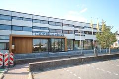 Αίθουσα πόλεων του δήμου Waddinxveen στη νότια Ολλανδία, οι Κάτω Χώρες στοκ εικόνα