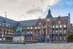 Αίθουσα πόλεων του Ντίσελντορφ, Γερμανία Στοκ φωτογραφία με δικαίωμα ελεύθερης χρήσης