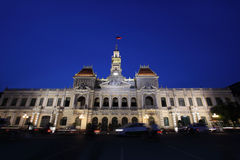 αίθουσα πόλεων saigon στοκ φωτογραφίες με δικαίωμα ελεύθερης χρήσης