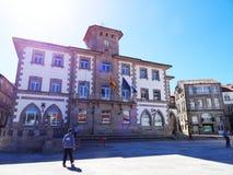 Αίθουσα πόλεων παιδιών - Muros - Ισπανία Στοκ εικόνα με δικαίωμα ελεύθερης χρήσης