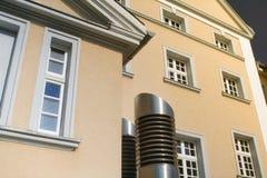 Αίθουσα πόλεων στην ηλιοφάνεια Στοκ εικόνα με δικαίωμα ελεύθερης χρήσης