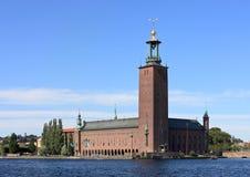 Αίθουσα πόλεων, Στοκχόλμη (Σουηδία) Στοκ Εικόνες