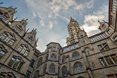 Αίθουσα πόλεων στο Μόναχο, Γερμανία Στοκ φωτογραφίες με δικαίωμα ελεύθερης χρήσης