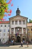 Αίθουσα πόλεων του Λουμπλιάνα, Λουμπλιάνα, Σλοβενία στοκ φωτογραφία