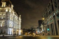 Αίθουσα πόλεων του Μόντρεαλ στοκ εικόνες με δικαίωμα ελεύθερης χρήσης