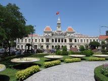 Αίθουσα πόλεων Χο Τσι Μινχ (saigon) στοκ εικόνες με δικαίωμα ελεύθερης χρήσης