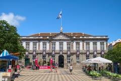 Αίθουσα πόλεων Angra do Heroismo, νησί Terceira, Αζόρες Στοκ Εικόνες
