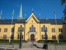 Αίθουσα πόλεων. Linkoping. Σουηδία στοκ εικόνες