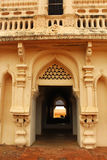 Αίθουσα πύργων κουδουνιών στο παλάτι maratha thanjavur Στοκ Εικόνες