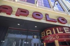 Αίθουσα συναυλιών προσόψεων, Sala Apolo στη λεωφόρο Paralelo, Βαρκελώνη Στοκ φωτογραφίες με δικαίωμα ελεύθερης χρήσης