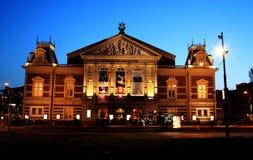 αίθουσα συναυλιών του Άμστερνταμ Στοκ Φωτογραφία