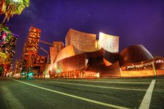 Αίθουσα συναυλιών του Λος Άντζελες στοκ εικόνες