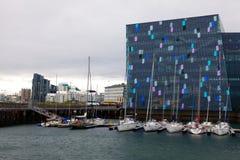 Αίθουσα συναυλιών Harpa Στοκ εικόνα με δικαίωμα ελεύθερης χρήσης