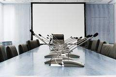 αίθουσα συνεδριάσεων Στοκ Εικόνες