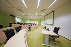 Αίθουσα συνεδριάσεων Σάο Πάολο για τους 45 ανθρώπους και 137 sq.m Στοκ Εικόνες