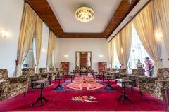 Αίθουσα συνεδριάσεων στο παλάτι επανένωσης, Chi Μ Ho Στοκ Εικόνες