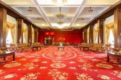 Αίθουσα συνεδριάσεων στο παλάτι επανένωσης, Ho Chi Minh Στοκ Εικόνες
