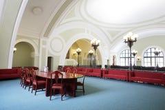 Αίθουσα συνδιαλέξεων στο εμπόριο και τη βιομηχανική αίθουσα της Ρωσίας Στοκ φωτογραφία με δικαίωμα ελεύθερης χρήσης