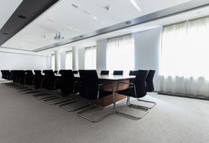 Αίθουσα συνδιαλέξεων στο επιχειρησιακό κέντρο Στοκ φωτογραφία με δικαίωμα ελεύθερης χρήσης