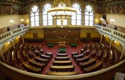 Αίθουσα της συνεδρίασης του Κοινοβουλίου στοκ φωτογραφίες με δικαίωμα ελεύθερης χρήσης