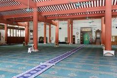 Αίθουσα του μουσουλμανικού τεμένους Στοκ Εικόνες