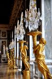Αίθουσα των καθρεφτών, πύργος de Βερσαλλίες Στοκ φωτογραφίες με δικαίωμα ελεύθερης χρήσης