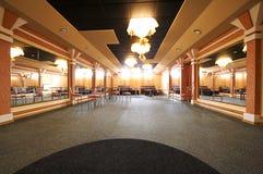 Αίθουσα χορού με τους καθρέφτες Στοκ Εικόνα