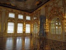 Αίθουσα χορού στο παλάτι της Catherine Στοκ Εικόνες