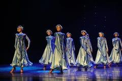 Αίθουσα χορού χορός-Ουκρανία της Ουκρανίας ο εξωτικός-παγκόσμιος χορός της Αυστρίας Στοκ Φωτογραφία