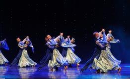 Αίθουσα χορού χορός-Ουκρανία της Ουκρανίας ο εξωτικός-παγκόσμιος χορός της Αυστρίας Στοκ Εικόνα