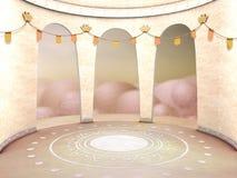 Αίθουσα χορού Στοκ φωτογραφία με δικαίωμα ελεύθερης χρήσης