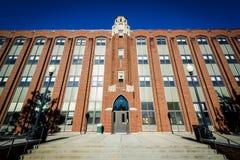 Αίθουσα Aquinas, στο κολλέγιο πρόνοιας, στην πρόνοια, Ρόουντ Άιλαντ Στοκ φωτογραφία με δικαίωμα ελεύθερης χρήσης