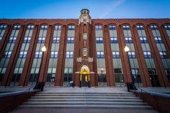 Αίθουσα Aquinas, στο κολλέγιο πρόνοιας, στην πρόνοια, Ρόουντ Άιλαντ Στοκ Εικόνα