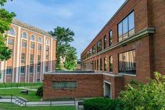 Αίθουσα Armstrong στο πανεπιστήμιο της δυτικής Βιρτζίνια Στοκ Φωτογραφία