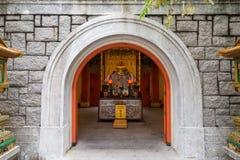 Αίθουσα Bodhisattva Skanda στο Po Lin μοναστήρι Στοκ εικόνες με δικαίωμα ελεύθερης χρήσης