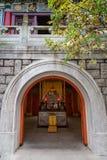 Αίθουσα Bodhisattva Skanda στο Po Lin μοναστήρι Στοκ φωτογραφίες με δικαίωμα ελεύθερης χρήσης