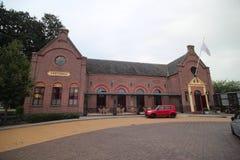 Αίθουσα Concordia θεάτρων και πόλεων στο χωριό Haastrecht στις Κάτω Χώρες στοκ εικόνες με δικαίωμα ελεύθερης χρήσης