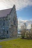 Αίθουσα Haakon στο φρούριο Bergenhus στο Μπέργκεν, Νορβηγία Στοκ Εικόνες