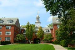Αίθουσα Wayland, καφετί πανεπιστήμιο, πρόνοια, ΗΠΑ στοκ φωτογραφίες