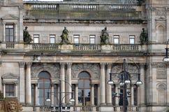 Αίθουσες πόλεων στην πλατεία του George, Γλασκώβη, Σκωτία Στοκ Εικόνες