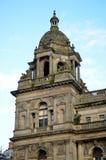 Αίθουσες πόλεων στην πλατεία του George, Γλασκώβη, Σκωτία Στοκ εικόνα με δικαίωμα ελεύθερης χρήσης