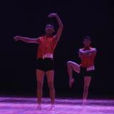 Αίμα-σύγχρονος χορός καψίματος Στοκ Εικόνες