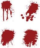 αίμα splats Στοκ Εικόνα