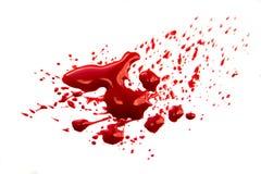Αίμα splatter Στοκ Εικόνες